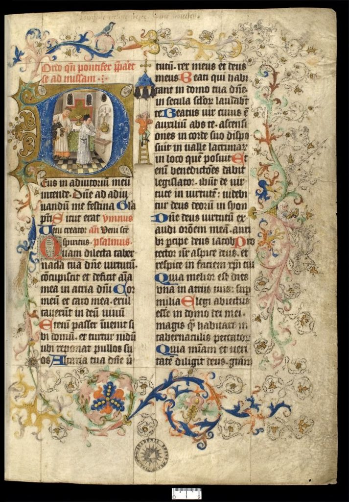 Liber pontificalis, Meester van Catharina van Kleef, Utrecht ca. 1440-1460, Utrecht University Library