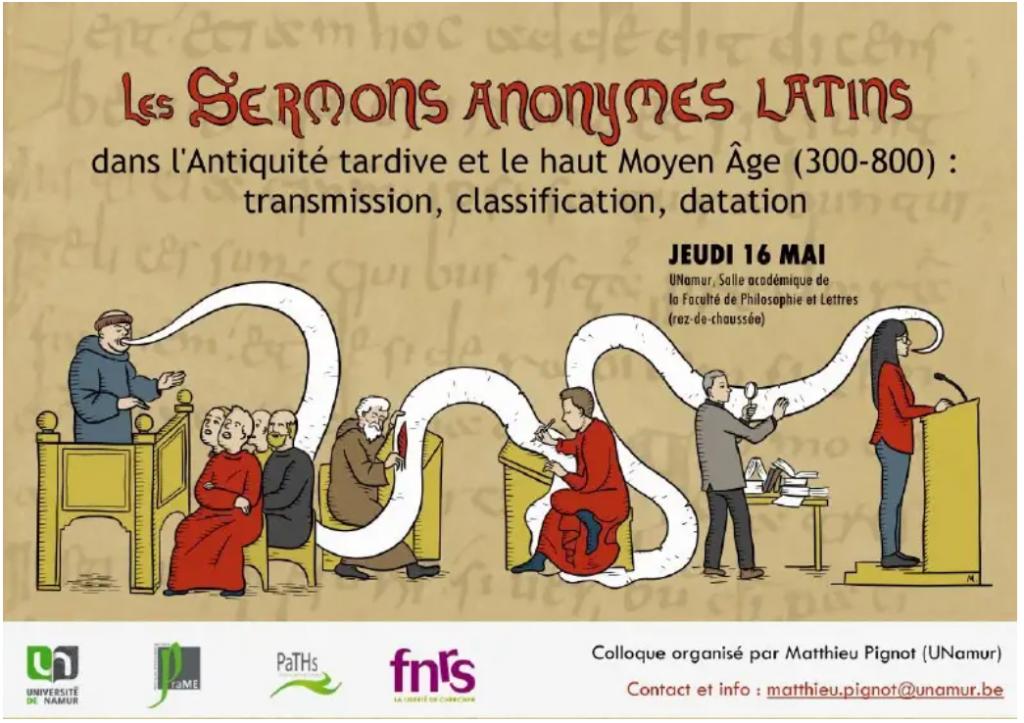 Les sermons anonymes latins dans l'Antiquité tardive et le haut Moyen Âge (300-800)
